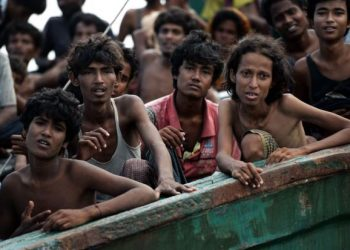 About 740,000 Rohingya fled Myanmar for Bangladesh following a brutal military clampdown in their home country in August 2017, joining hundreds of thousands already living in crowded camps. (AFP)