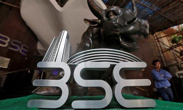 Sensex soars over 350 pts; Nifty near 11,800