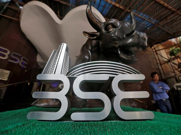Sensex soars over 350 pts; Nifty near 11,800