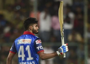 Delhi gave away 51 runs off the last 18 balls to allow Mumbai post a challenging score of 168 for five.