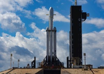The next window for the mission is Thursday, the company said Wednesday. (Image: SpaceX)