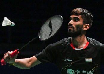 The eighth seeded Indian, who had reached the finals of India Open last week, blew a huge advantage in the opening game to eventually lose the quarterfinal match 18-21, 19-21.