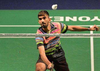 Eighth seeded Srikanth, who had reached the finals of a BWF World Tour event after 17 months at the India Open last week, defeated Thailand's Khosit Phetpradab 21-11, 21-15.
