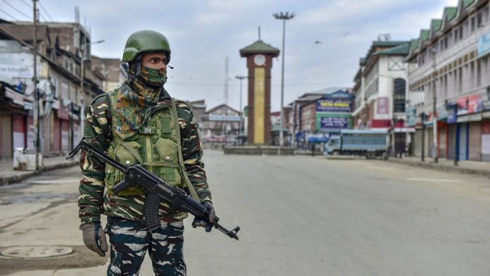 Polling is being held in the Srinagar parliamentary constituency spread over three districts of Srinagar, Budgam and Ganderbal.