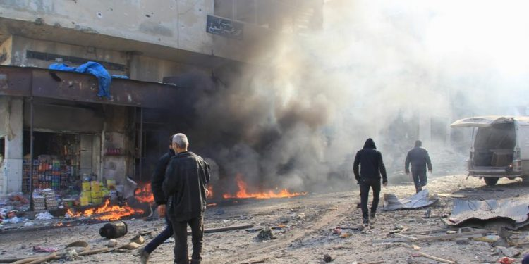 The cause of the blast in the town of Jisr al-Shughur was not immediately clear, the Britain-based Syrian Observatory for Human Rights said. (Representational image)