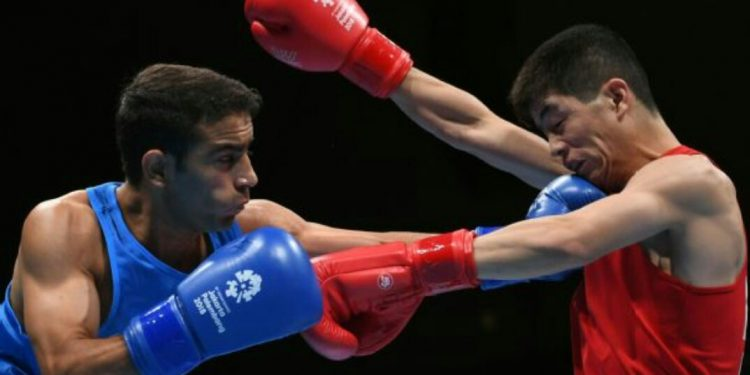 The 25-year-old from Assam defeated Thailand's Rujakran Juntrong in a one-sided lightweight (60kg) contest.