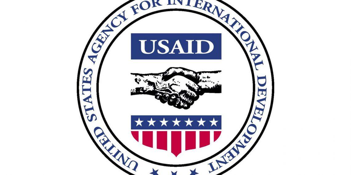 US AID logo. Wikimedia Commons.