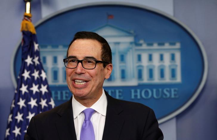 U.S. Treasury Secretary Steven Mnuchin (REUTERS)