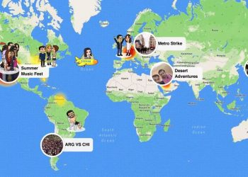 Snapchat testing Status, Mention, Snap Map features