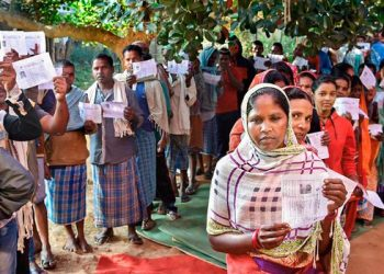 Naxal-hit Bastar was the only Lok Sabha constituency that voted in the first phase in Chhattisgarh, which has 11 seats. (PTI photo)