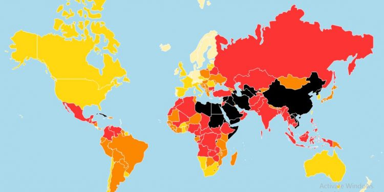 The 'World Press Freedom Index 2019', topped by Norway, finds an increased sense of hostility towards journalists across the world. (Image: RSF)