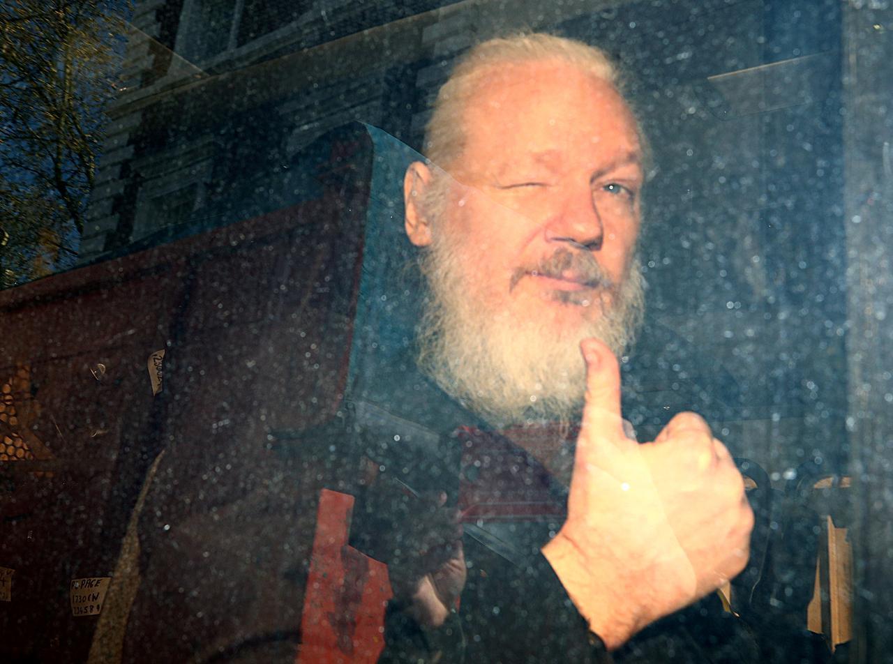 Leaked footage shows Julian Assange skateboarding around Ecuadorian embassy