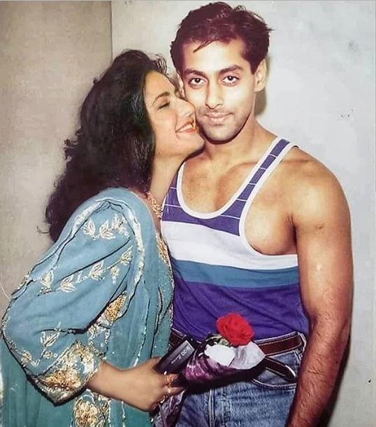 Throwback picture of Katrina Kaif and Salman Khan - Odisha ...