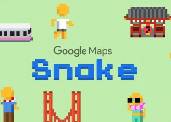 Google Maps gets 'Snakes' game for April Fool's Day