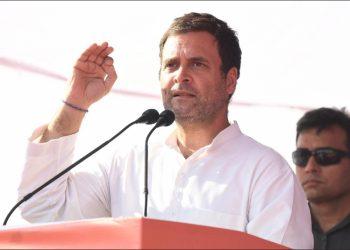 Rahul Gandhi. File pic