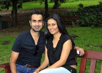 Imran Tahir and his wife Sumayya Dildar