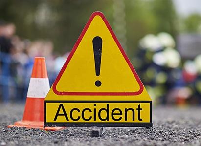 Two killed, three injured in road mishaps