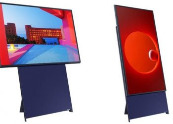 Samsung's vertical TV to go on sale in May