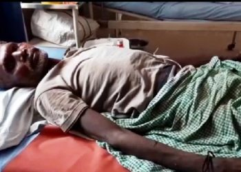 Man survives jumbo attack