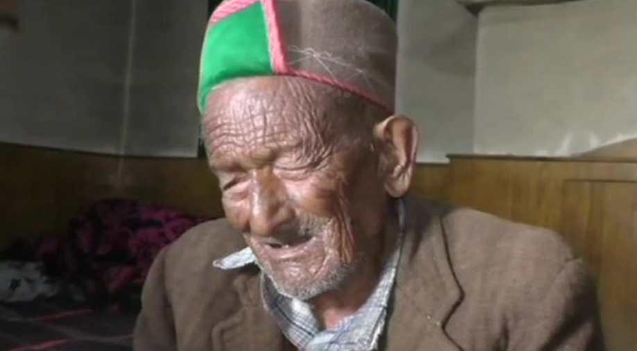 India's 'first' voter Shyam Saran Negi (102)