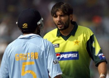 Afridi has hit back at Gambhir, saying the cricketer-turned Indian politician has some problems for which he can be treated in Pakistan..