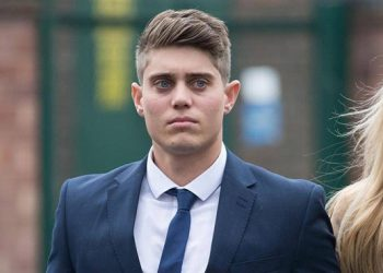 Australian-born Hepburn, 23, was found guilty of one charge of oral rape and cleared of another rape charge during a re-trial last month by the Hereford Crown Court.
