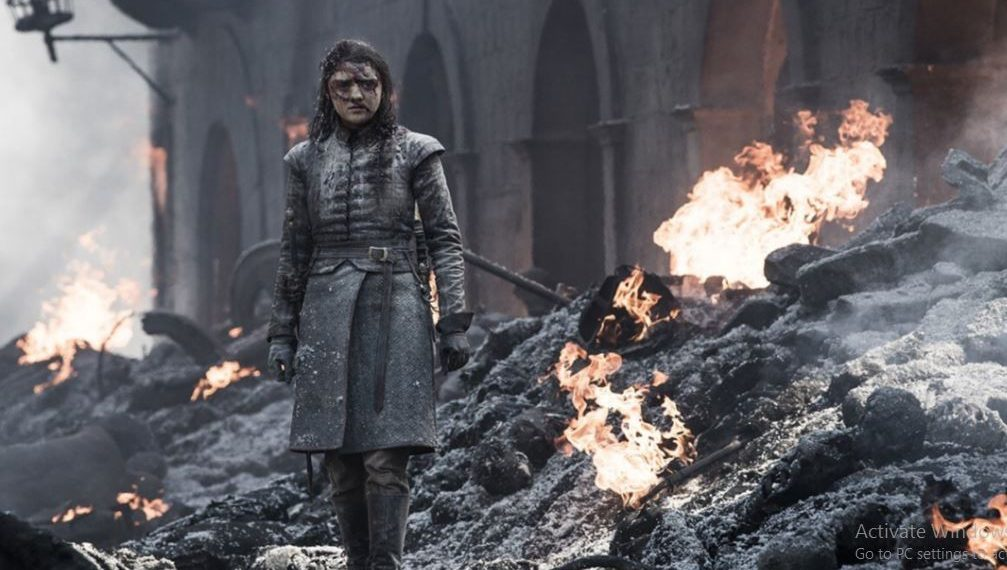 Arya may have skipped killing Cersei but she manages to kill the Night King in one of the most popular moments from the show.