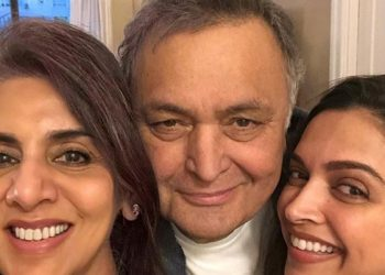 Neetu called Deepika 'adorable', and took to her Instagram page to share three photographs from their meeting. They are all smiles and huddled up in the pictures.