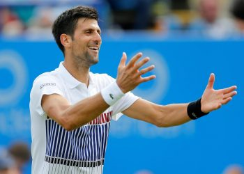 Djokovic, who turned 32 Wednesday, is playing down his potential date with destiny.