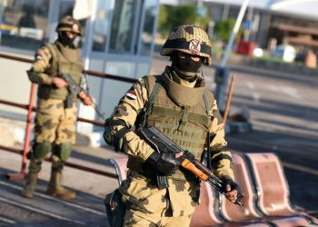 Security forces carried out a raid against an apartment in the 6th of October district used for making explosive devices.