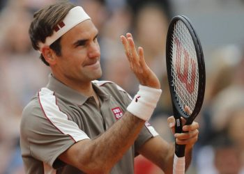 Federer will be playing Casper in the third round at the Roland Garros.