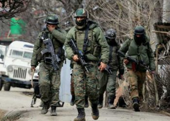 Representational image of security forces
