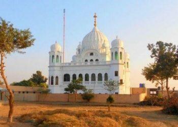 The Gurudwara Darbar Sahib in Pakistan's Narowal province