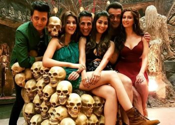 Directed by Farhad Samji, the fourth installment of the popular comedy franchise, is slated to release on Diwali 2019.