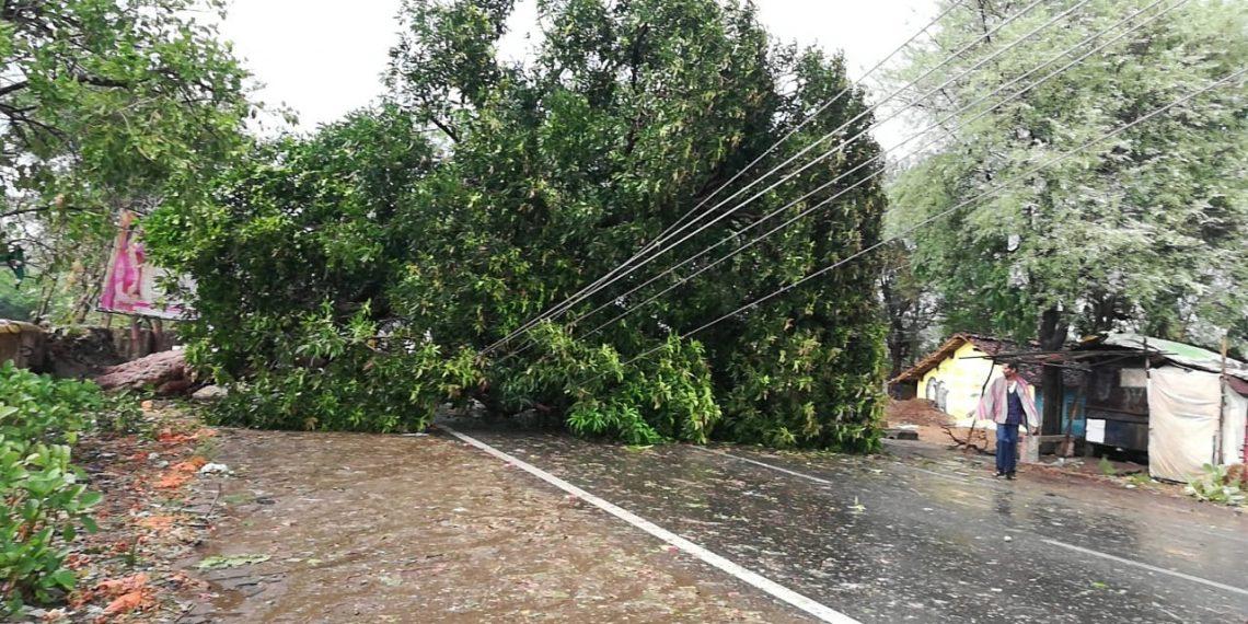 Thunderstorm kills man,wreaks havoc in Kalahandi