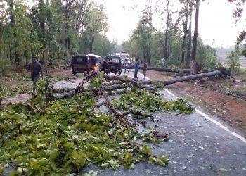 Nor'wester wreaks havoc in Nabarangpur