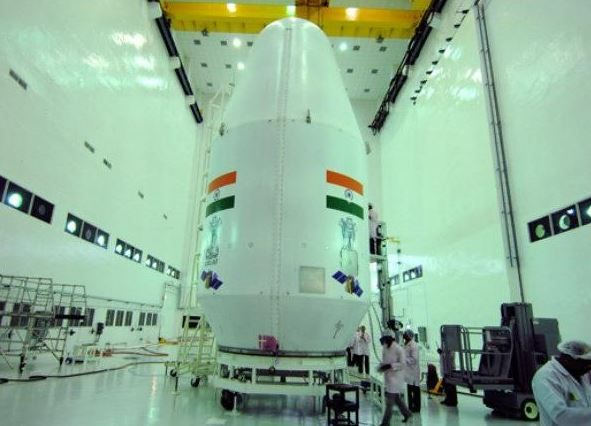The spacecraft with a mass of 3.8 tonnes has three modules--Orbiter, Lander (Vikram) and Rover (Pragyan).