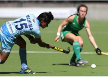 Despite the loss, India's junior team gave a good account of themselves, holding their own against their fancied senior opponents -- the World Cup silver medallists, Ireland.