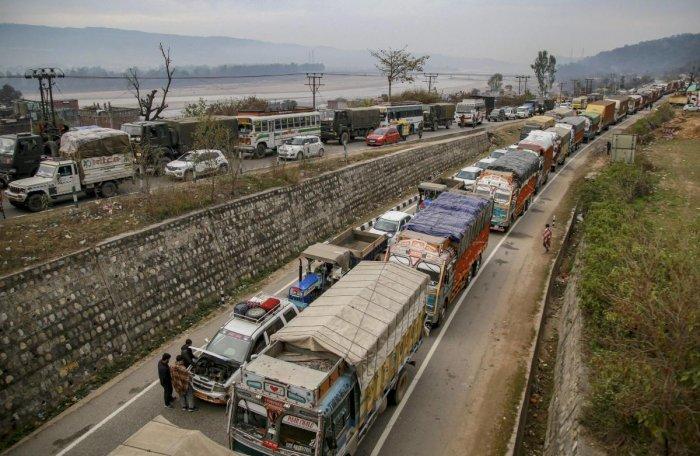 Restrictions had already been lifted for Wednesdays on civilian traffic in this stretch of the highway.