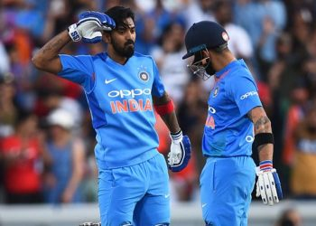 KL Rahul hit a 99-ball 108 against Bangladesh in a warm up game for the WC.