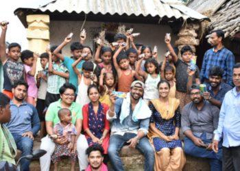 Lending hands in cyclone fani