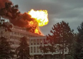 Thirteen people were wounded in the blast - eight women, four men and a 10-year-old girl - of whom 11 needed hospital treatment.
