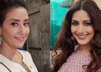 Manisha Koirala (L) and Sonali Bendre