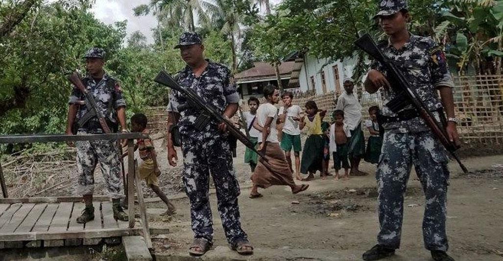 Representational image of Myanmar military