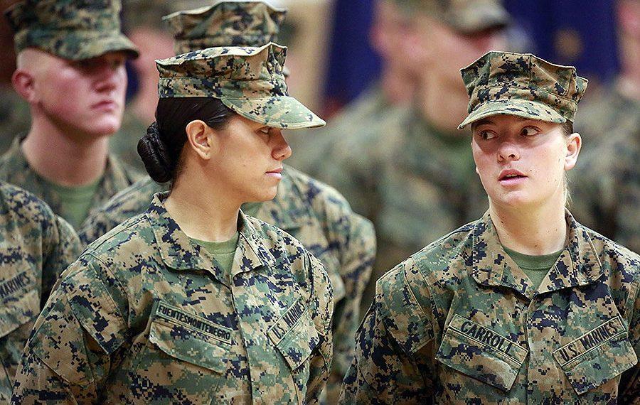 Representational image of women in US military