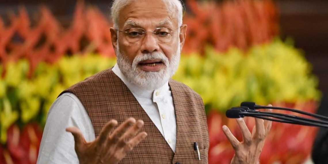 Modi recalled that ever since the 2014 elections, the story of Gujarat's development initiatives had reached all corners of the country even before he reached various places for campaigning.