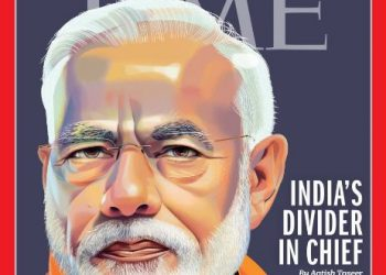 The piece, a sharp criticism of Modi's leadership, has been written by Aatish Taseer, son of Indian journalist Tavleen Singh and late Pakistani politician and businessman Salmaan Taseer.
