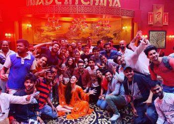 Mouni, Rajkummar wrap up 'Made in China' shoot