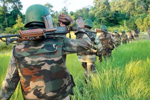 The skirmish took place in the jungles of Hiroli under Kirandul police station area when a squad of police's District Reserve Guard (DRG) was out on anti-naxal operation.