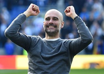 Guardiola's City retained the Premier League title Sunday, beating Klopp's Liverpool by a single point at the end of a thrilling title race.